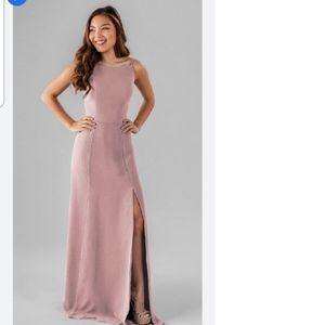 Kennedy Blue Alice bridesmaid dress (desert rose)